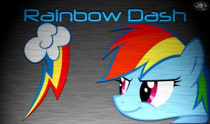Rainbow Dash B.A. Wallpaper by InternationalTCK
