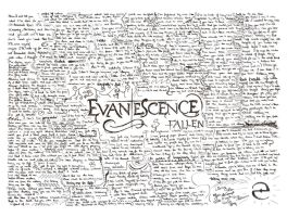 Evanescence Fallen-lyrics by IveeC