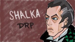 Doctor Who: Shalka Doctor by davidpustansky