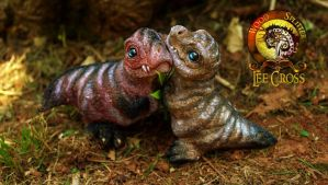 Sold, Baby T-Rexes! by Wood-Splitter-Lee