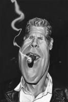 RON PERLMAN by JaumeCullell