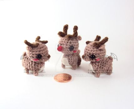 Rudolf and Friends by altearithe