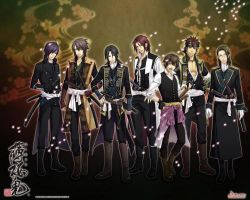 Hakuouki Western Hotties by Allyerion