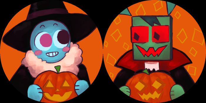 halloween icons by night-sprout