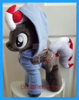 mlp plushie commission POETIC JUSTICE by CINNAMON-STITCH