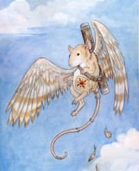 Metaphorical Pigeon Cover by ursulav