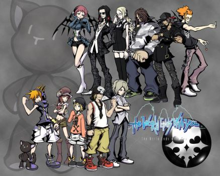 The world ends with you by iamthemiggy
