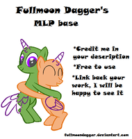 MLP base #5 by FullmoonDagger