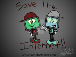 Computer Bros. [ Save the Net Neutrality] by DanielSantos360