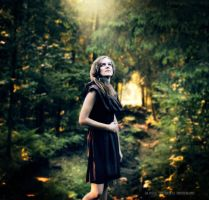 Girl in the forest... by orlibraorli