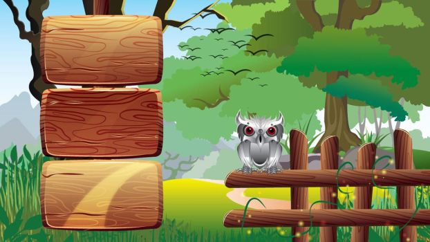 Owl game menu by doctrina-kharkov
