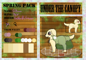 .:Under The Canopy Application - Gikwan:. by UneasyOcean