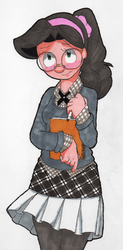 Kylee, school girl chic [Finished] by AurePeri