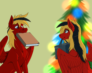 New Year gifts by Twotail813