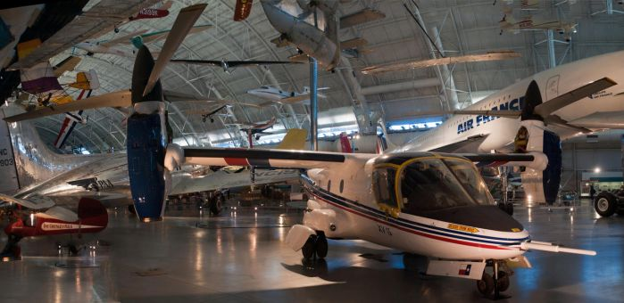Bell XV-15 Tilt Rotor Front Side View by spcefrk