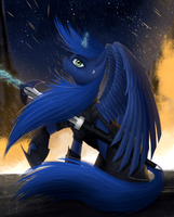 Princess Luna by Dezdark