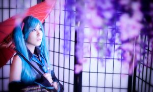Miku Hatsune from Vocaloid cosplay part5 by mayuyu0405