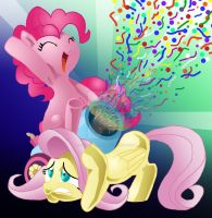 A Pinkie Shy Party!!! by SilverStarlet