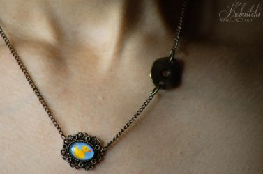 Ducklace Necklace Duck by Kobaitchi
