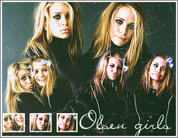 Olsen twins by Laies