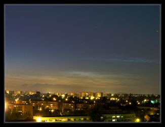 2011.06.26 Noctilucent clouds by Atmospheric-Bloo