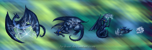 Nightwood: dragon of storm by Avilone