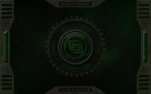 Linux Mint Metal wallpaper by samriggs
