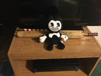BENDY and the INK Machine plush. by Namine-Kitten