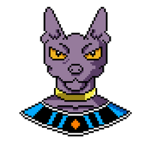 Beerus Pixel Art by Shadow--Force