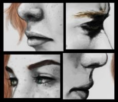 Clary and Jace details by TellerofTales