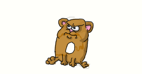 Angry hamster thing of I don't know by RavarokJudge