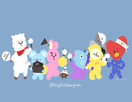 Hello we are BT21! by Capramare