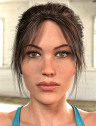 Lara Genesis 3 Female - final edit (closeup) by tigerste