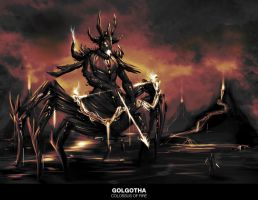 Golgotha: Colossus of Fire by Baranha