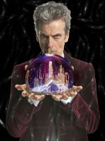 Doctor Who Snow Globe by SimmonBeresford