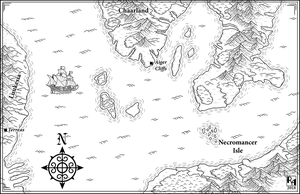 A RESPITE FROM STORMS: Ashes of Luukessia - Map by Sapiento