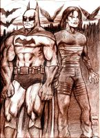 Batman and The Crow... VENGEANCE!!! by MisterHydesSon
