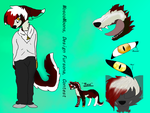 Design For MoscoMoons Fursona Contest by LipsynkFennec