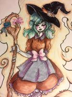 Witch Girl!  by EvilCrayonsOfDoom