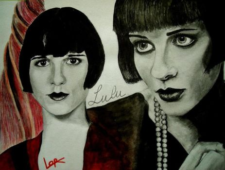 Louise Brooks by LORMarie44