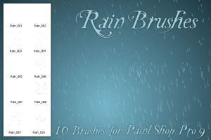 Rain Brushes PSP by zememz