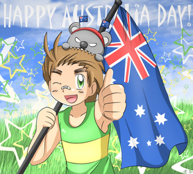APH - Happy Australia Day by Endless-Rainfall