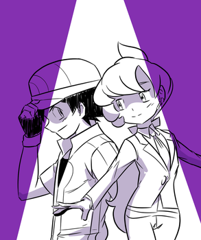 Ash and Anabel by kish95