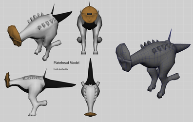 Platehead - WIP - orthographic by Demmmmy