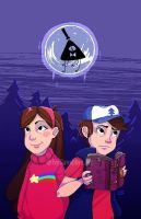 Gravity Falls  by AdventureTime-lover