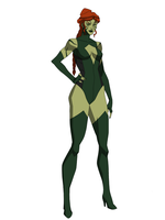 Redesigned Poison Ivy by DeathCantrell
