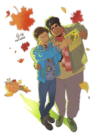 Hunk and Lance by Autumn-Sacura