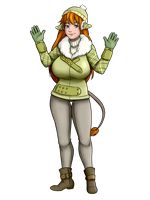 Coni - Winter Outfit Collab by TheGreatWarrior