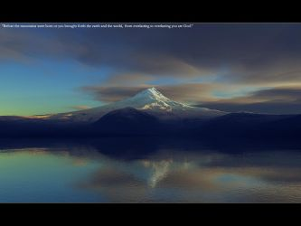 Before the mountains by eponce