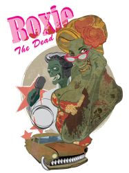 zombi pin up 30X40 by treintatorres
